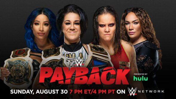 Bayley e Sasha Banks vs. Shayna Baszler e Nia Jax