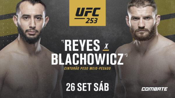 UFC 253 Reyes x Blachowicz