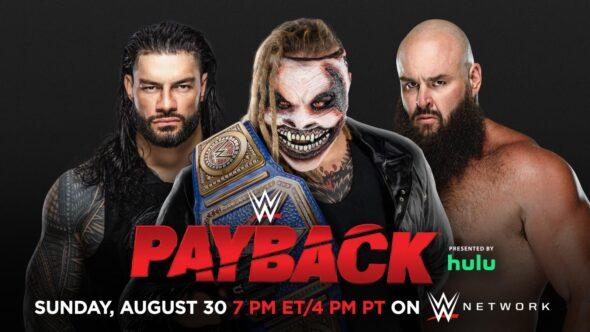 Bray Wyatt vs. Roman Reigns vs. Braun Strowman