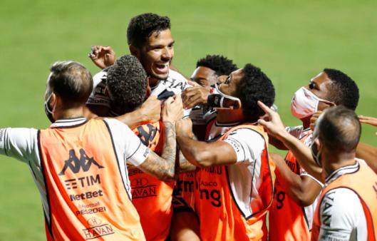 Goiás x Vasco gols penaltis