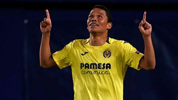 Carlos Bacca em ação pelo Villarreal