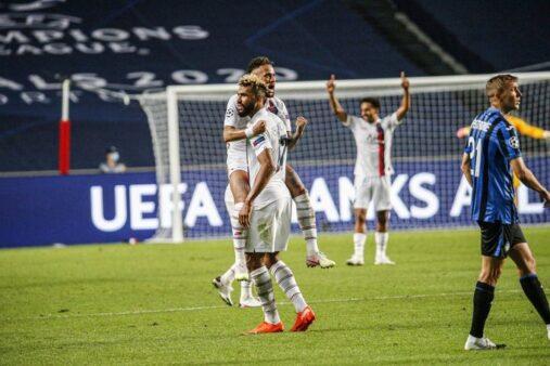 Atalanta 1x2 PSG Champions League Neymar