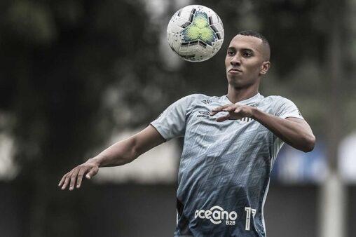 Lucas Braga, atacante do Santos (Foto: Ivan Storti/ Reprodução/ Flickr oficial do Santos FC)