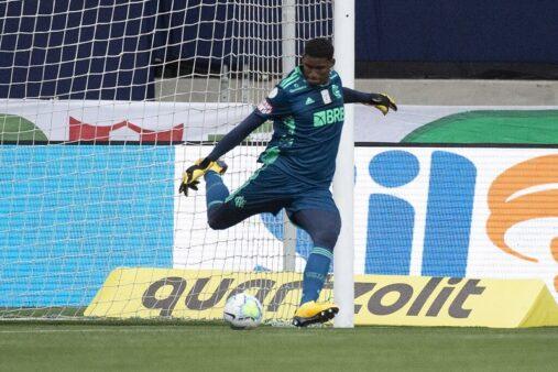 Hugo é destaque no Flamengo.