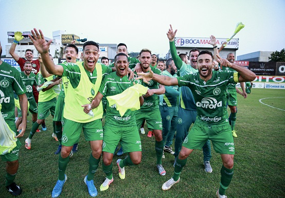 No último domingo (13), a Chapecoense conquistou o título do Campeonato Catarinense de 2020 (Foto: Divulgação/ Site oficial ACF)