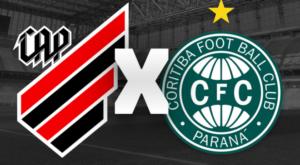 Athletico-PR x Coritiba ao vivo