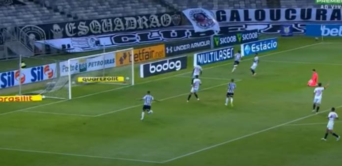 Atlético-MG x São Paulo gols