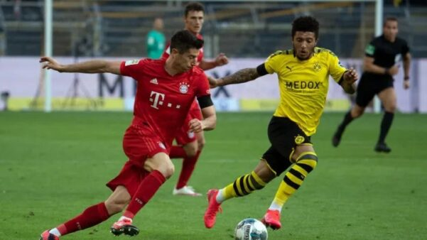 Assistir Bayern x Borussia Dortmund AO VIVO