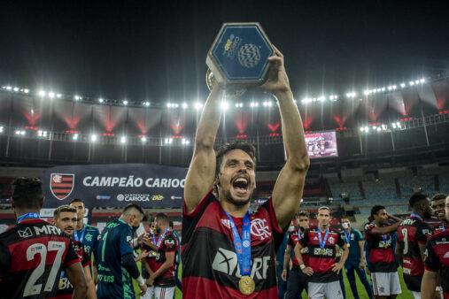 Rodrigo Caio é destaque no Flamengo.