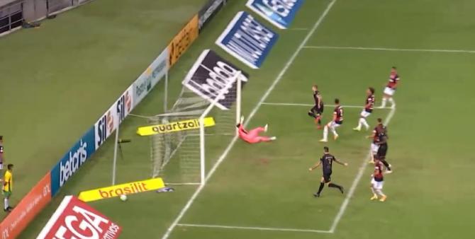 Ceará x Flamengo gols