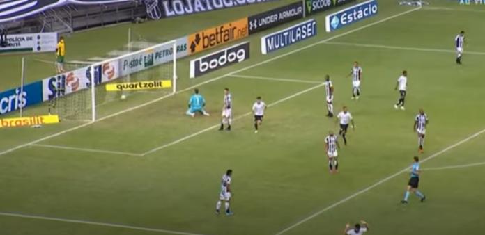 Ceará x Santos gols