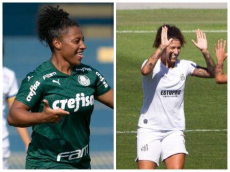 Assistir Palmeiras x Santos Brasileirão Feminino AO VIVO