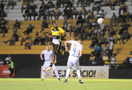 Eduardo Melo, atacante do Criciúma (Foto: Divulgação/ Criciúma EC)