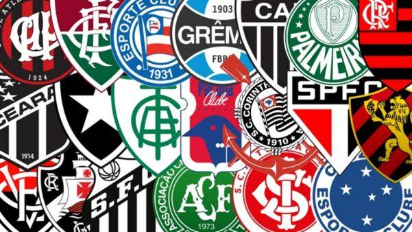 escudos de clubes do futebol brasileiro Brasileirão