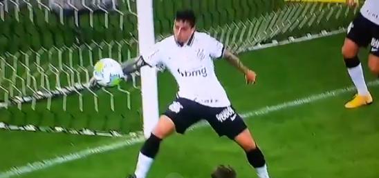 Fagner Corinthians x Palmeiras expulso