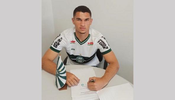 Márcio Gleyson, zagueiro do time Sub-20 do Coritiba (Foto: Divulgação/ Site oficial do Coritiba FC)