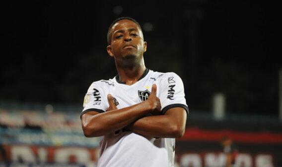 Keno esteve na seleção da rodada do Brasileirão pelo Atlético-MG.