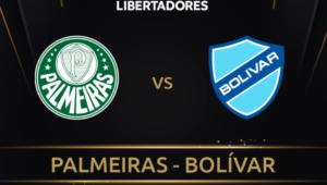 Palmeiras x Bolívar ao vivo