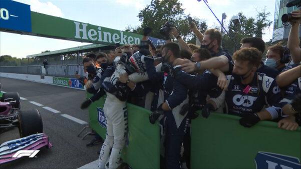 Gasly vence GP de Monza