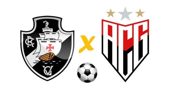 Vasco x Atlético-GO (Reprodução/ Arte: Adriano Oliveira)