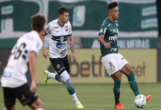 O Coritiba pôs fim a um jejum de quatro jogos sem vitória ao derrotar o Palmeiras, no Allianz Parque, por 3 x 1 (Foto: Cesar Greco/ Reprodução/ Flickr oficial SE Palmeiras)