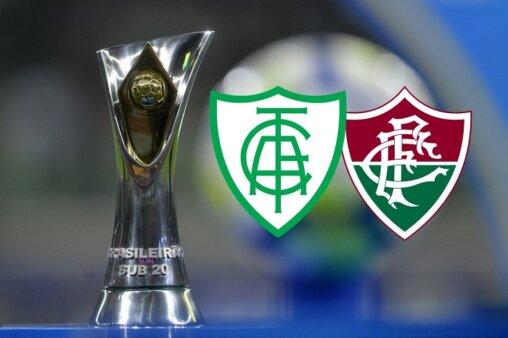 Assista América-MG x Fluminense AO VIVO pelo Brasileirão Sub-20 - Mauro Horita/ CBF (Arte: Adriano Oliveira)