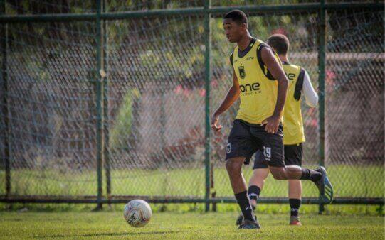 Flamengo contratou jovem atacante.