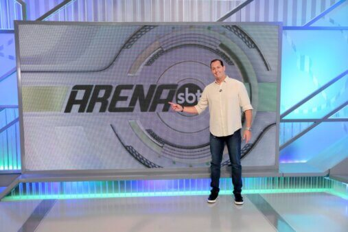Arena SBT estreou na emissora na Libertadores.