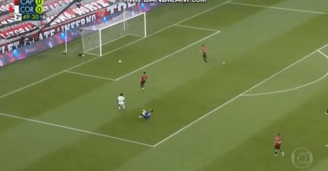 Athletico x Corinthians gol