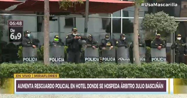 Arbitragem de Peru x Brasil vira caso de polícia; entenda