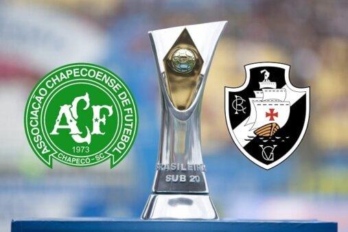 Assista Chapecoense x Vasco AO VIVO pelo Brasileirão Sub-20 (Divulgação/ Arte: Adriano Oliveira)
