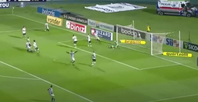 Coritiba x Santos gols