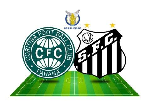Tudo sobre Coritiba x Santos pela 17ª rodada do Brasileirão (Reprodução/ Arte: Adriano Oliveira)