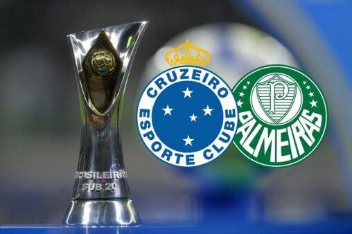 Assista Cruzeiro x Palmeiras AO VIVO pela 7ª rodada do Brasileirão Sub-20 - Mauro Horita/ CBF (Arte: Adriano Oliveira)