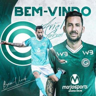 Ex-Cruzeiro, Ariel Cabral é o novo reforço do Goiás