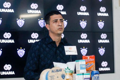 Felipe Albuquerque, diretor de futebol do Paysandu
