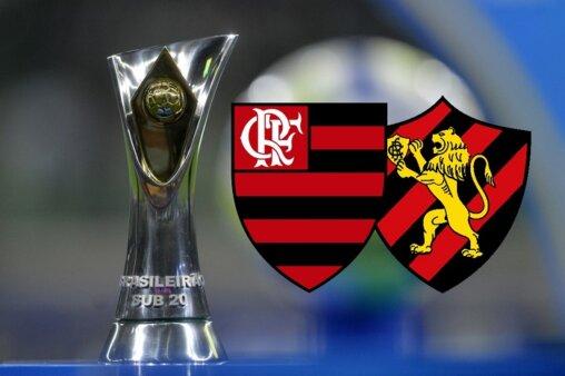 Assista Flamengo x Sport AO VIVO pelo Brasileirão Sub-20 - Mauro Horita/ CBF (Arte: Adriano Oliveira)
