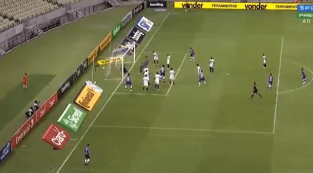 Fortaleza x São Paulo gols