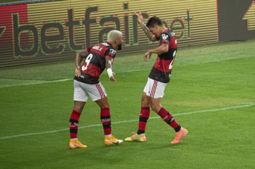 Gabigol e Pedro são destaques do Flamengo.