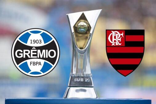 Assista Grêmio x Flamengo AO VIVO pelo Brasileirão Sub-20