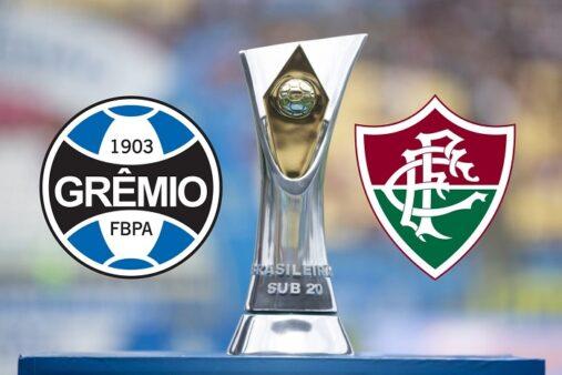 Como assistir Grêmio x Fluminense AO VIVO pelo Brasileirão Sub-20 (Reprodução/ Arte: Torcedores)