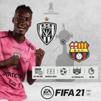 Independiente del Valle x Barcelona guia