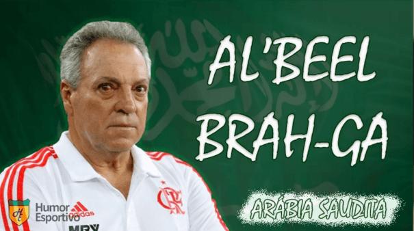 """Abel Braga foi """"sugerido"""" ao Palmeiras."""