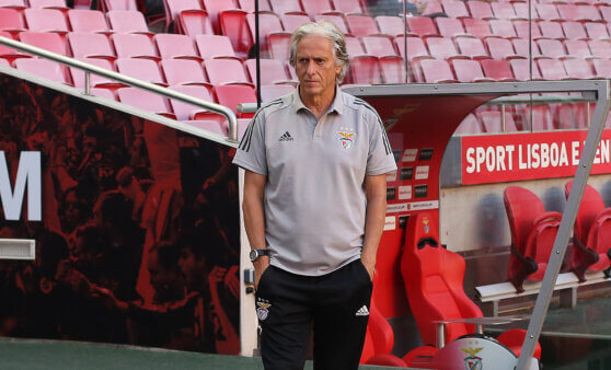 Jorge Jesus esteve na mira do Vasco.