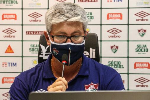 Odair Helmann no Fluminense