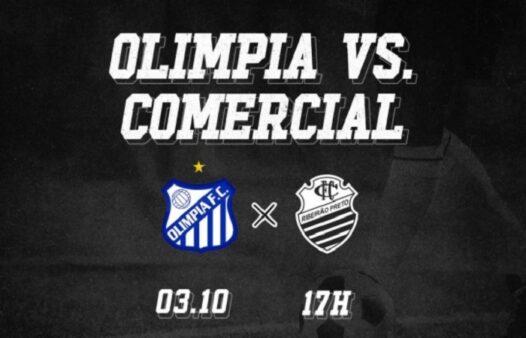 Assista Olímpia x Comercial AO VIVO (Divulgação/ Facebook oficial do Comercial FC)