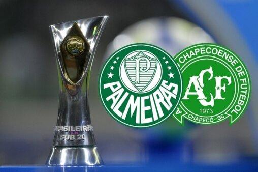 Assista Palmeiras x Chapecoense AO VIVO pelo Brasileirão Sub-20 - Mauro Horita/ CBF (Arte: Adriano Oliveira)