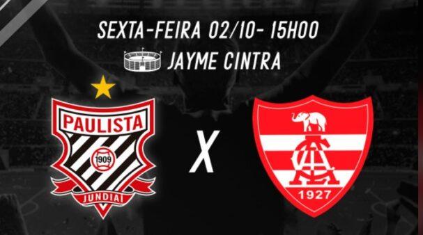 Assista Paulista x Linense AO VIVO (Divulgação/ Facebook oficial do Paulista FC)