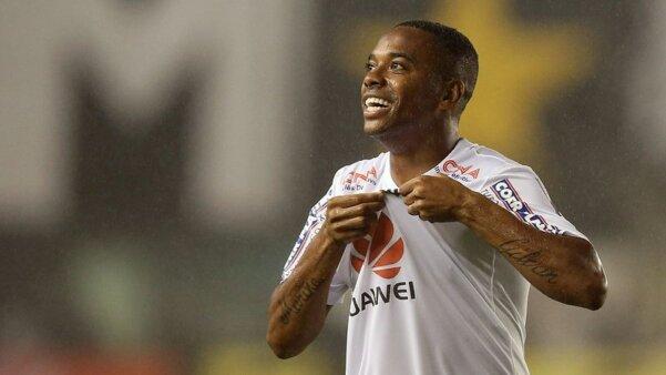 Robinho treina com o Santos e já tem uma possível data de estreia