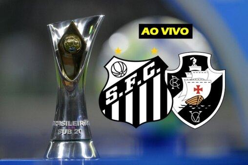 Assista Santos x Vasco AO VIVO pelo Brasileirão Sub-20 - Mauro Horita/ CBF (Arte: Adriano Oliveira)